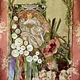 Mucha Fabric Collage
